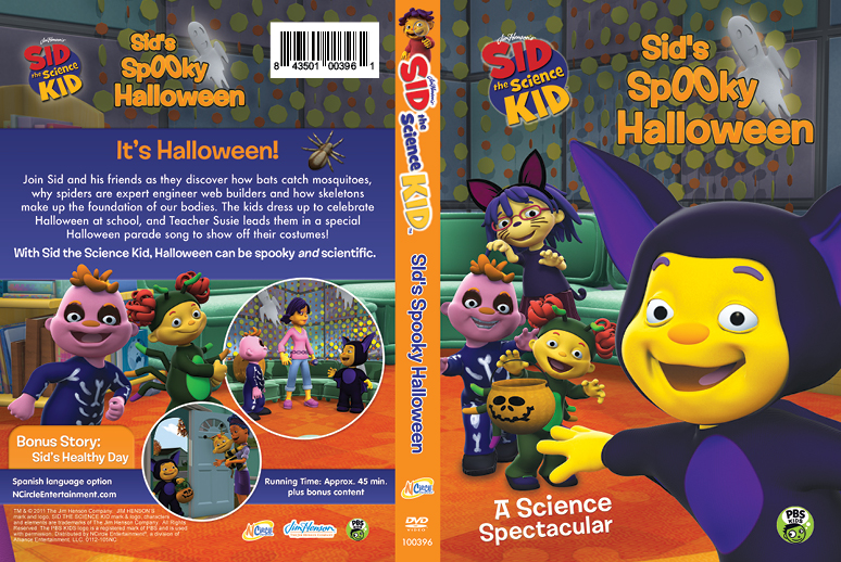 sid the science kid halloween dvd packaging vitevite